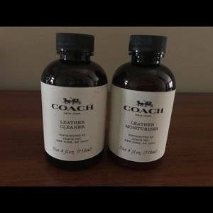 New coach leather cleaner and moisturizer